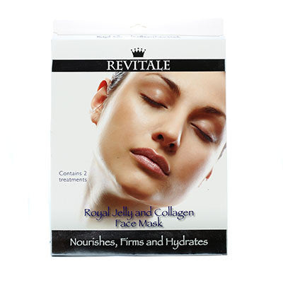 Pharmacy Brands Skincare - Face Revitale Royal Jelly and Collagen Face Mask