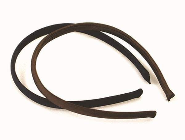 QVS Hair Accessories Black Fabric Headband (2)