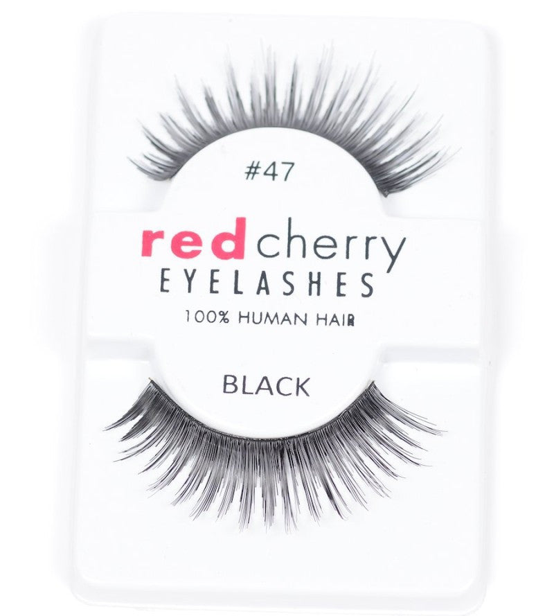 Red Cherry Lashes Eyelashes Red Cherry Eyelashes #47 (1D)