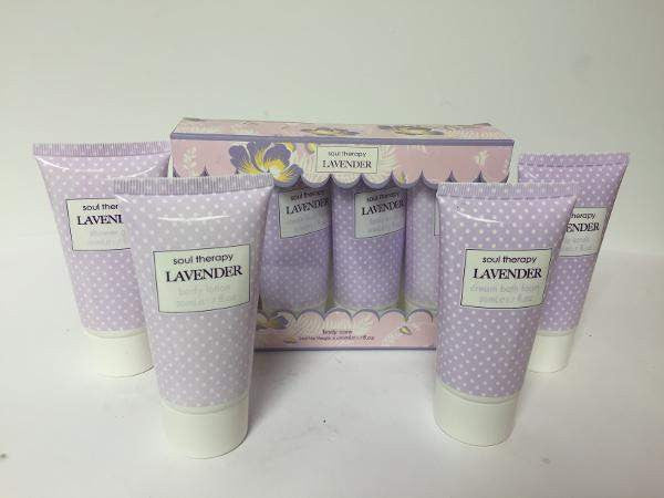 The Body Collection Gift Sets Soul Therapy Lavender - 4 Piece Body Care Set