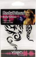 Vixen Fashion Accessories Body Tattoo (Dragon) - Small