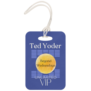 Beyond Wednesdays VIP Unlimited Badge Blue