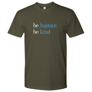 Military Green Be Kind T-shirt
