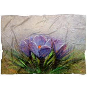 Super Soft Crocus Blanket