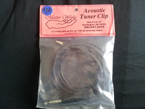 Acoustic Tuner Clip