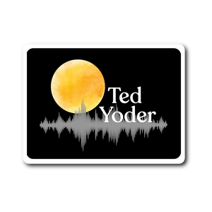 Moon on the Water Ted Yoder Sticker