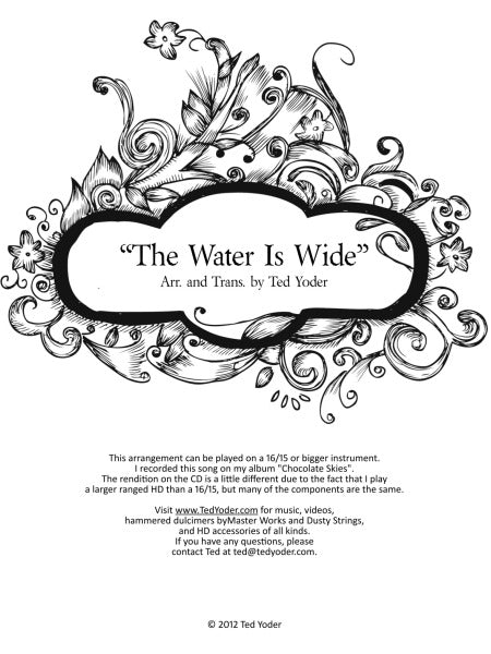 The Water is Wide (MP3 & PDF)