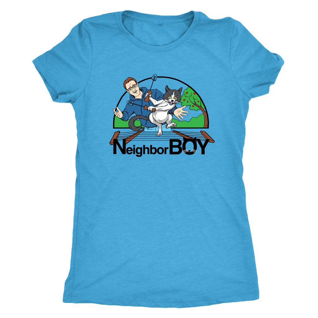 Neighbor Boy Heathered Women's Shirt