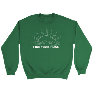 Find Your Peace Crewneck 108 Sweatshirt