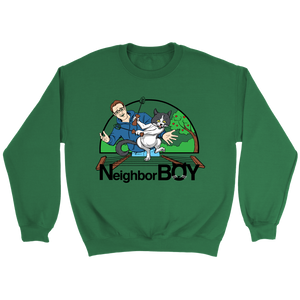 Neighbor Boy Crewneck Sweatshirt