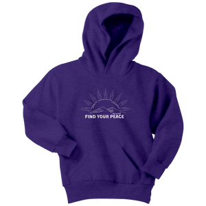 Youth Find Your Peace Sweatshirt XS-XL