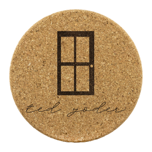 At Home with Ted Yoder Coasters