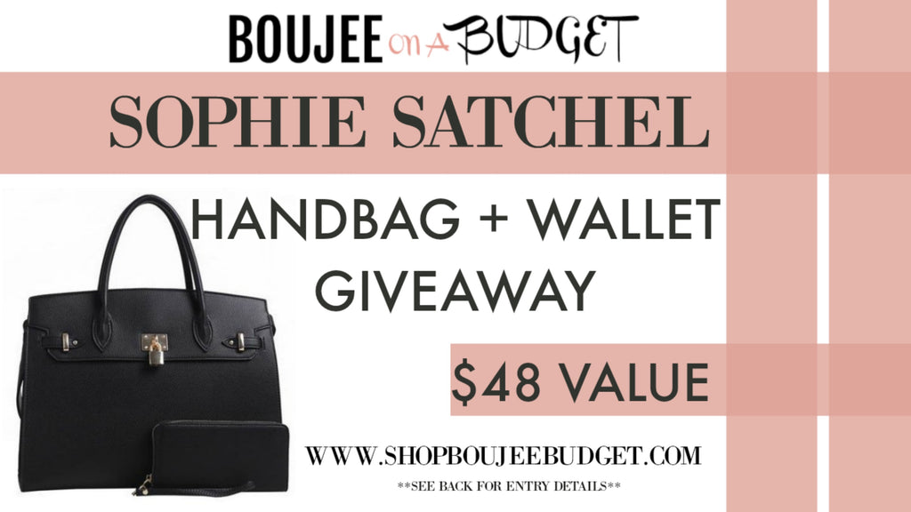 HANDBAG GIVEAWAY - WIN A FREE HANDBAG & WALLET!