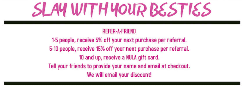 REFER A FRIEND PROGRAM