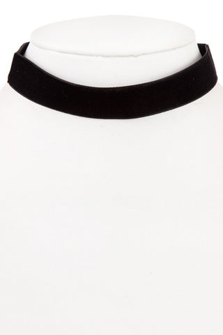 Black Velvet Choker Necklace - NULABoutique