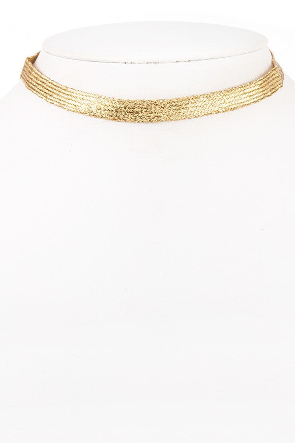 Golden Choker - NULABoutique