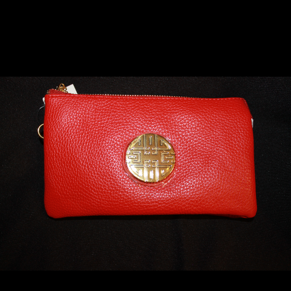 Ann Wallet - Red - NULABoutique