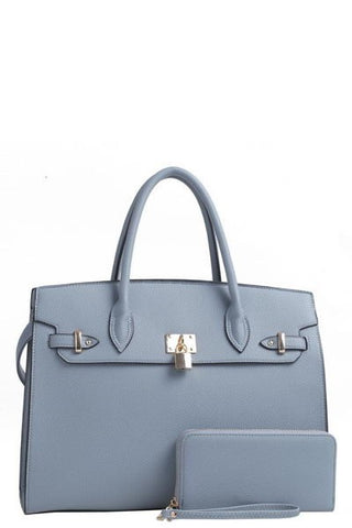 Sophie Satchel - Blue (PRE-ORDER) - NULABoutique