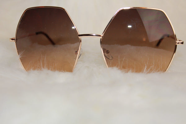 Gigi Sunglasses - Brown - NULABoutique
