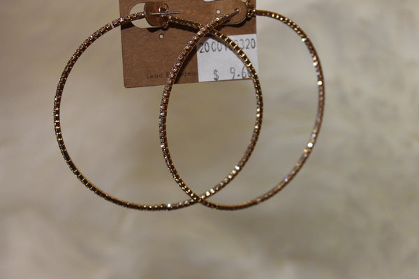 Diamond Hoops - NULABoutique