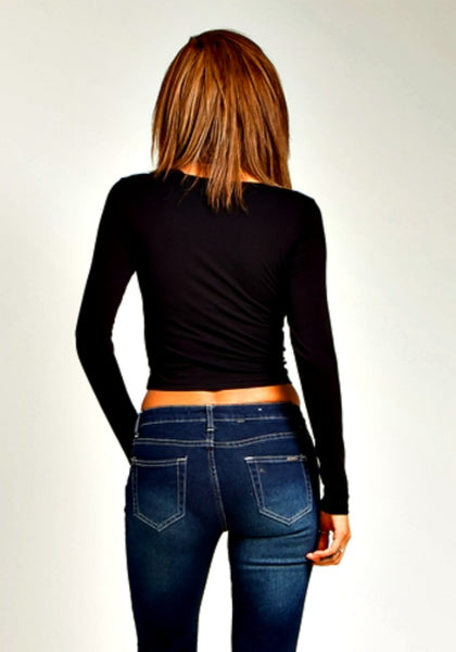 Black Crop Top - NULABoutique