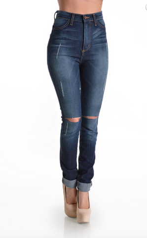 Anastasia High Waist Jeans - NULABoutique