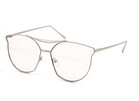 Valerie Glasses-Silver - NULABoutique