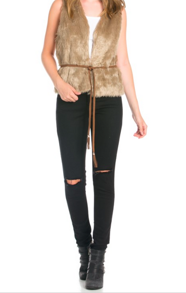 Dani Fur Vest - NULABoutique