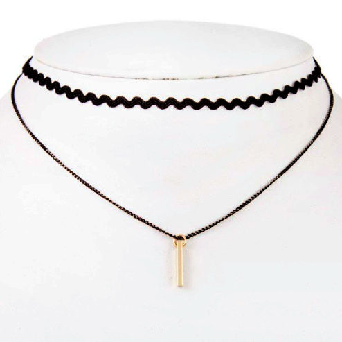 Gold Pendant Choker - NULABoutique