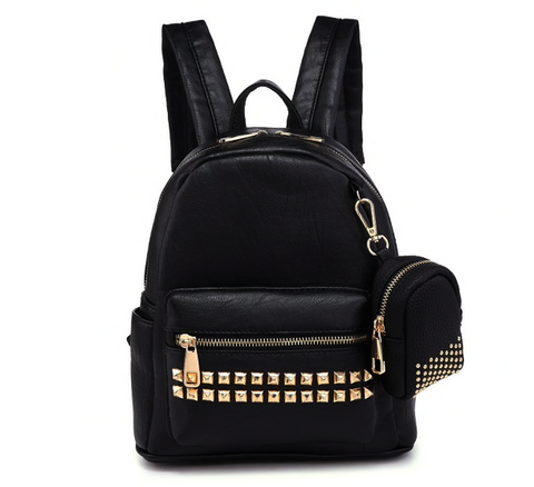 Mini Glam-Studded Backpack - NULABoutique