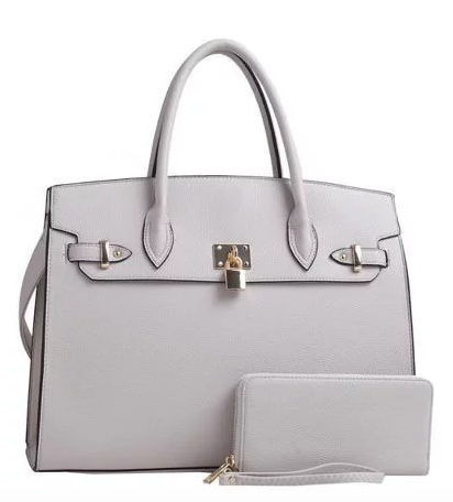 Sophie Satchel - Light Gray (PRE-ORDER) - NULABoutique