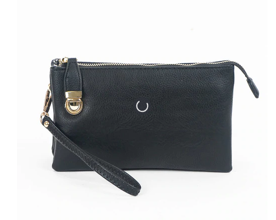 Mini On-the-Go Clutch - Black - NULABoutique