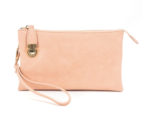 Mini On-the-Go Clutch -   Pink - NULABoutique