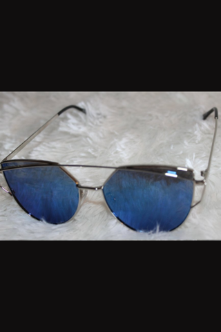 Elle Sunglasses-Blue - NULABoutique