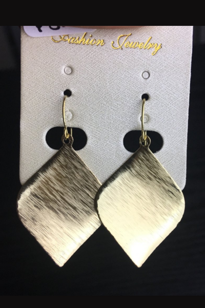 Golden Drop Earrings - NULABoutique