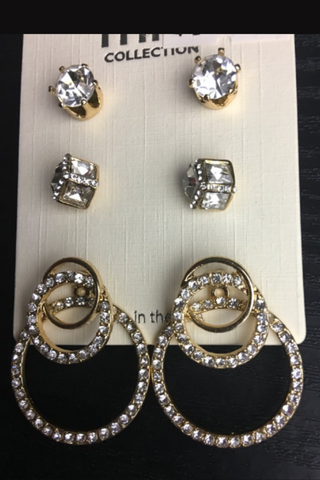 Bling Bling Earrings Set - NULABoutique