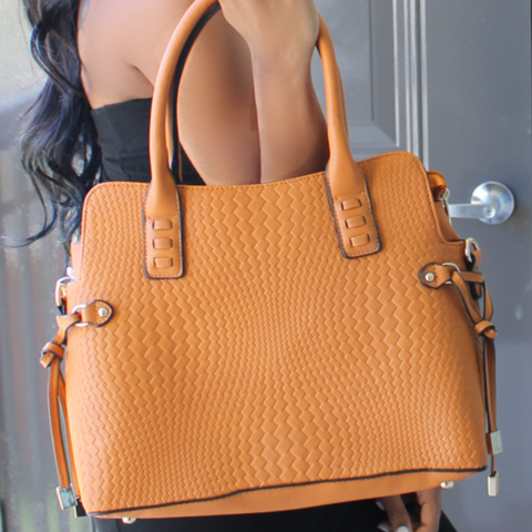 Harlow Shoulder Bag - Tan - NULABoutique