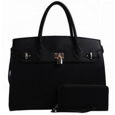 Sophie Satchel - Black - NULABoutique