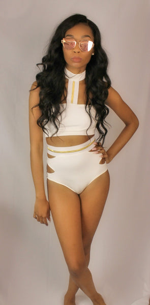 Ariel High Waist Swimsuit - NULABoutique