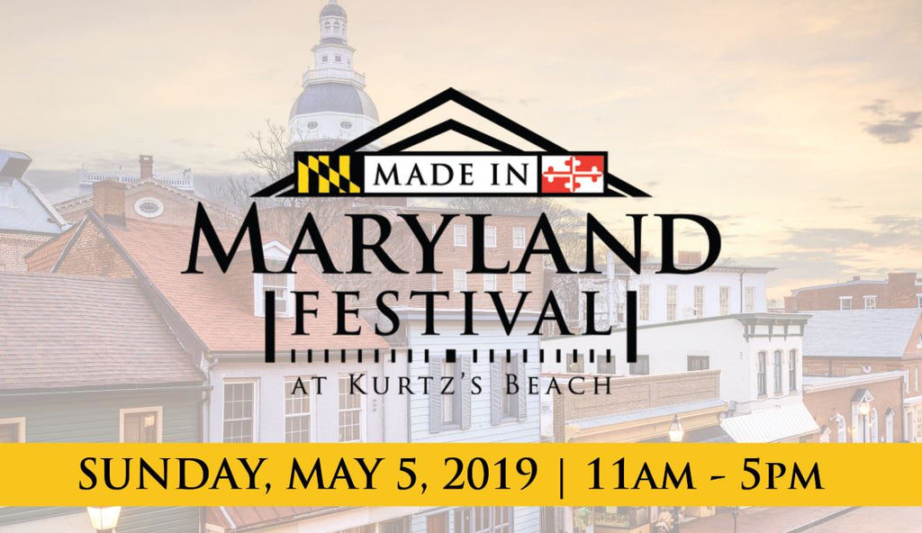 Get $3 off the Made in Maryland Festival - May 5, 2019