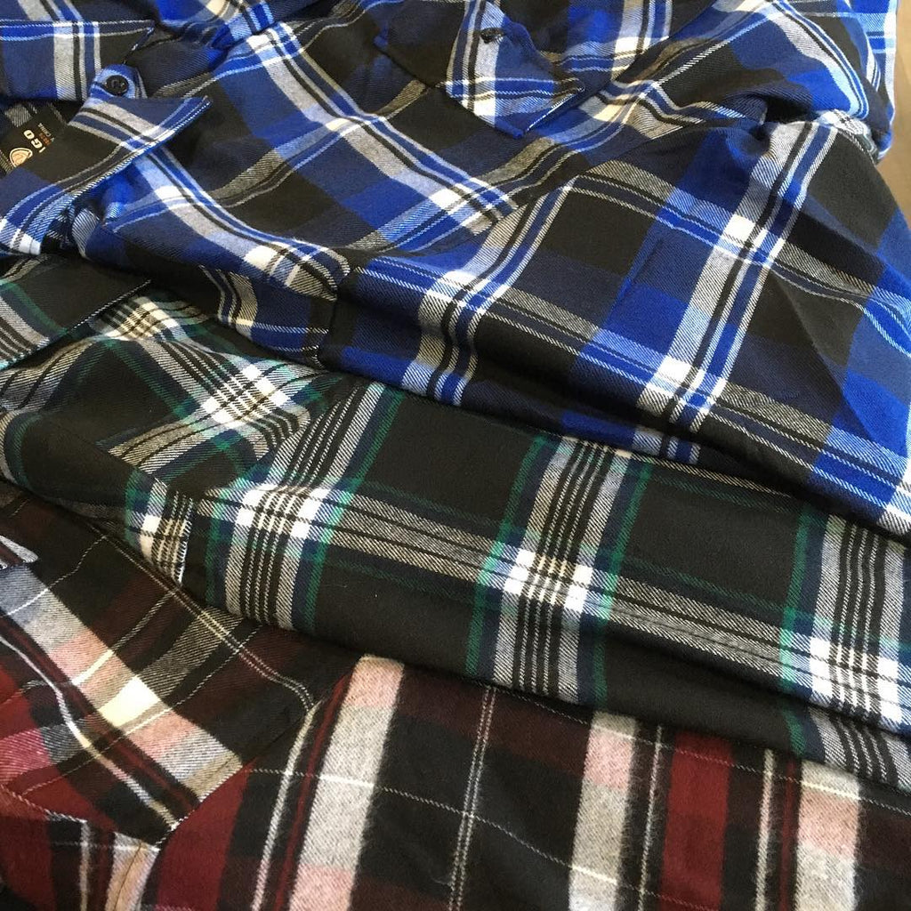 Flannels 3 for $50!
