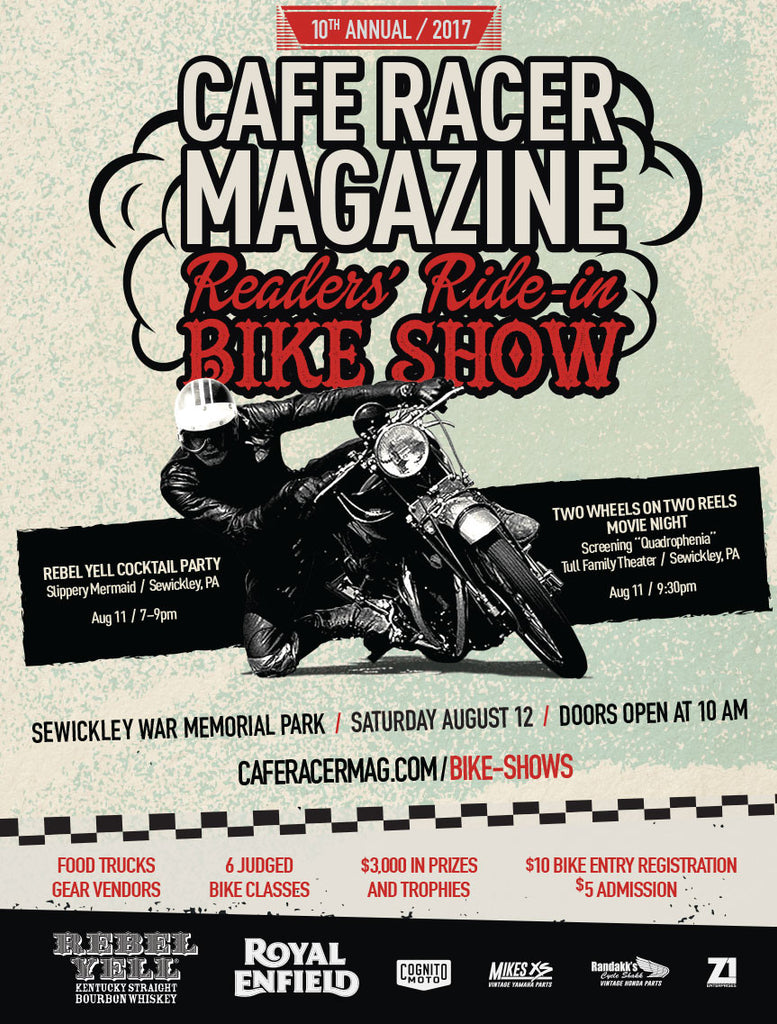 Cafe Racer Magazine Reader Ride-In Show! 8/12/17