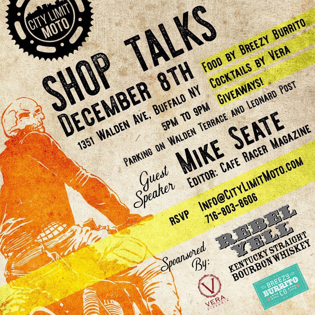 Shop Talks - Mike Seate!