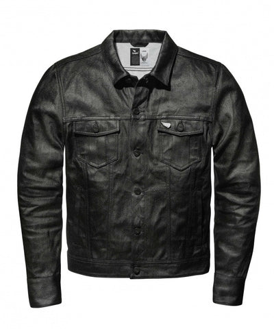SAINT Technical Denim Jacket - Black - City Limit Moto