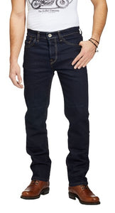 "Rokker Men's ""Rokkertech"" Slim Straight Jeans - Raw - City Limit Moto"