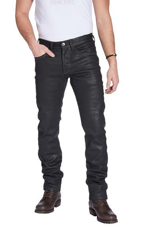 "Rokker Men's ""Rokkertech"" Slim Jeans - Black - City Limit Moto"