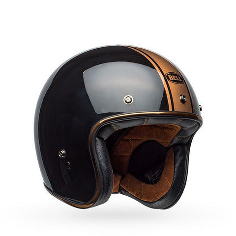 "Bell ""CUSTOM 500"" Helmet - Rally Gloss Black/Bronze"