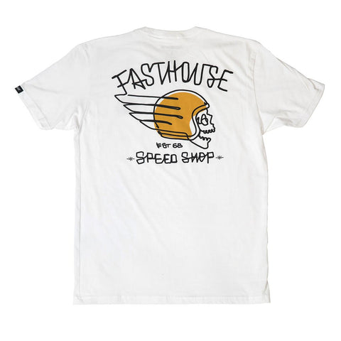 "Fasthouse ""HERETIC"" Tee Shirt - White - City Limit Moto"