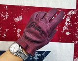 Grifter - Scoundrels Gloves - Oxblood - City Limit Moto