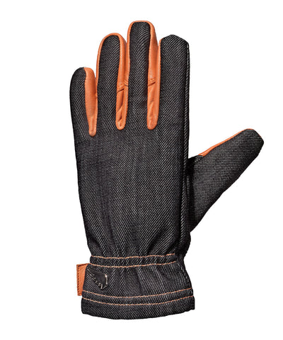 SAINT Unbreakable Gloves - Indigo/Orange - City Limit Moto
